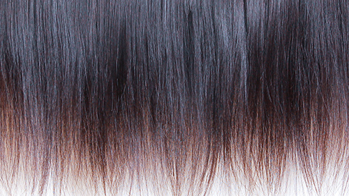 Hair detail of the end