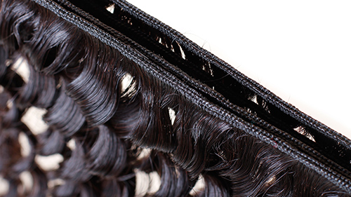 Hair detail of the weft