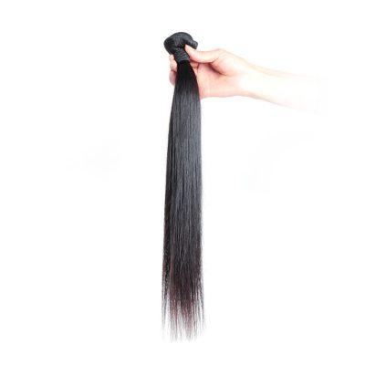 100% Brazilian Human Hair Straight Virgin Hair Double Weft