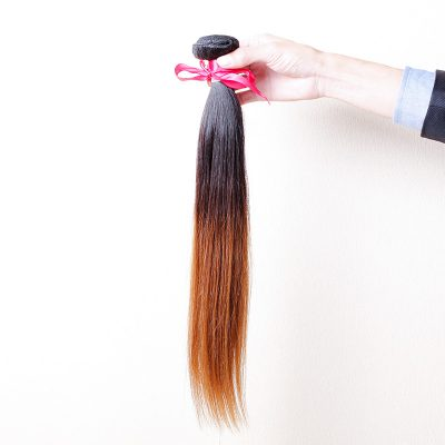 Brazilian Brown Hair Weave Top Grade Human Virgin Hair