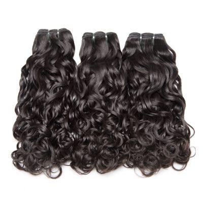 Brazilian Remy Hair Extensions Water Wave Virgin Hair Weave