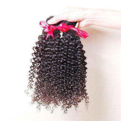 Brazilian Virgin Human Hair For Sale Cheap Curly Hair Weft