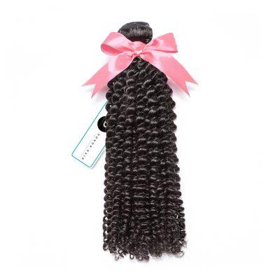 Cheap Virgin Brazilian Hair Kinky Curly Human Hair Weft