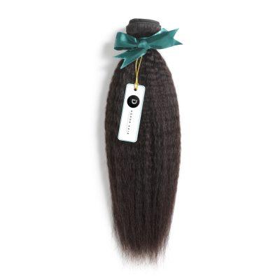 Brazilian Kinky Straight Hair Virgin Brazilian Hair Weft