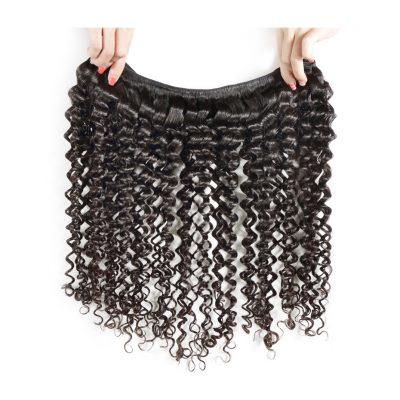 Brazilian Deep Wave Hair Weft Virgin Human Hair Weave
