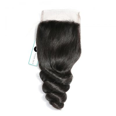 Virgin Lace Closure Loose Wave Brazilian Virgin Hair Closure