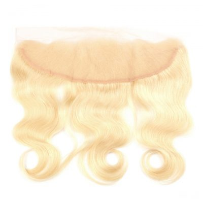 Blonde #613 Frontal Human Lace Frontal 13X4Inch With Baby Hair (2)