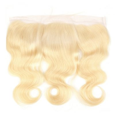 Blonde Color Lace Frontal #613 Human Hair Lace Frontal 13X4Inch