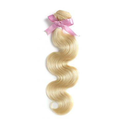 Blonde Hair Weave Body Wave 613 European Human Hair Extension