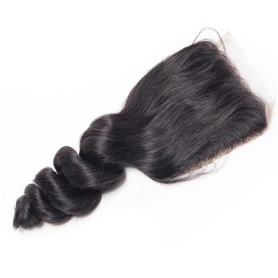 Brazilian Hair Closure Loose Wave Human Hair Lace Closure