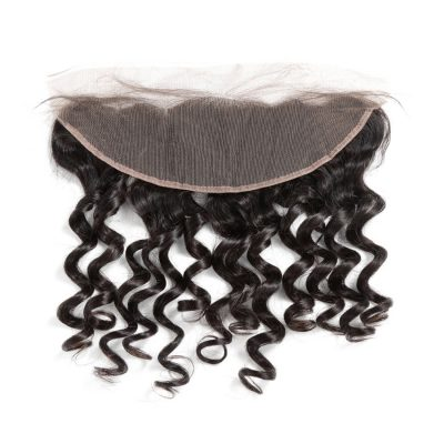 Brazilian Lace Frontal Natural Wave Human Hair Unprocessed