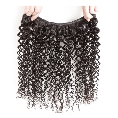 Curly Malaysian Hair Weave Unprocessed Virgin Malaysian