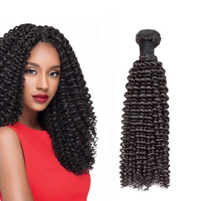 Kinky Curly Hair Weave Unprocessed Peruvian Curly Virgin Hair