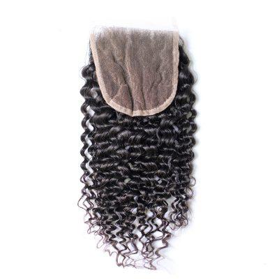 Malaysian Curly Closure Virgin Malaysian Deep Curly Hair Closure