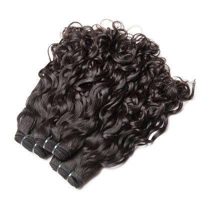 Malaysian Hair 4 Bundles Virgin Malaysian Wet And Wavy