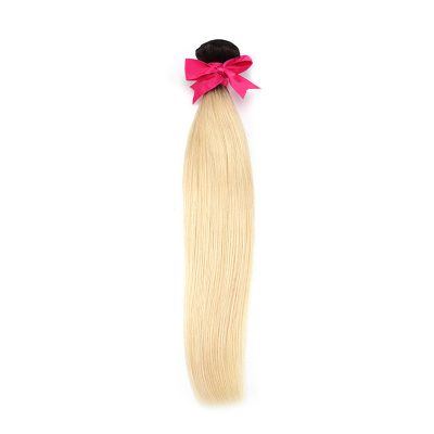 Ombre Brazilian Hair Body Wave Cuticles Aligned Blonde Ombre