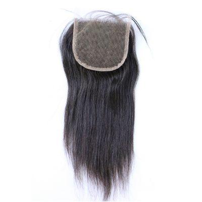Peruvian Straight Lace Closure Free Part Peruvian Virgin Hair Closure (8)