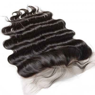 Body Wave Human Hair Lace Frontal 13X4 Hand Made Frontal