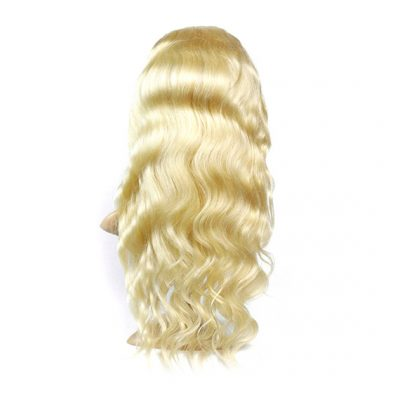 Full Lace Blonde Wig Indian Hair Indian Hair Wig Body Wave