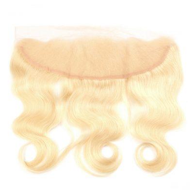 Honey Blonde Hair Body Wave Frontal 13X4 European Hair Frontal