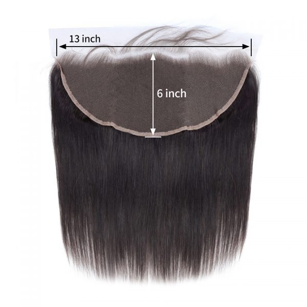 Straight Frontal 13X6inch Pre Plucked Natural Hair Line Frontal