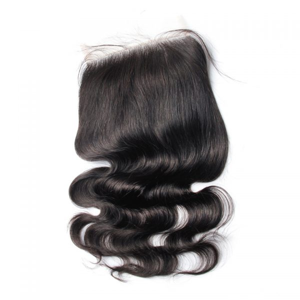 Ear To Ear Lace Closures Body Wave 6X6 Pre Plucked Closures